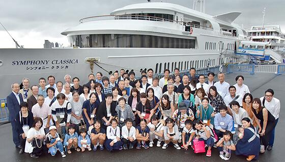 創業50周年記念東京湾クルーズ船上パーティーの画像