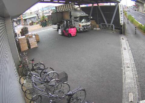 防犯システム連動監視カメラ(トラックヤード)の画像