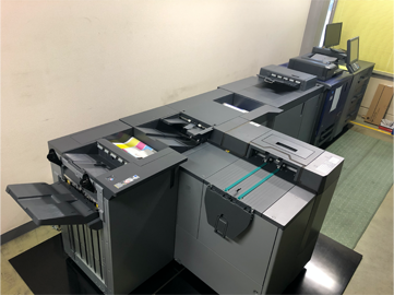 オンデマンド印刷機の画像